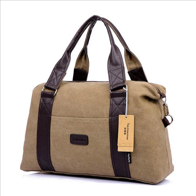 Человек Дорожные Сумки ручной клади Холст выходные мешок сумки для путешествий Сменные ...