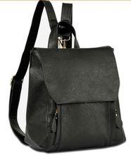 2015 New fashion designer brand brown canvas backpack bolsas mochila feminina New Korea fashion Designer Brand Luxury hot J311(China (Mainland))