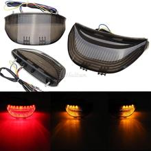 Motorcycle Integrated LED Turn Signals Tail Light For Honda