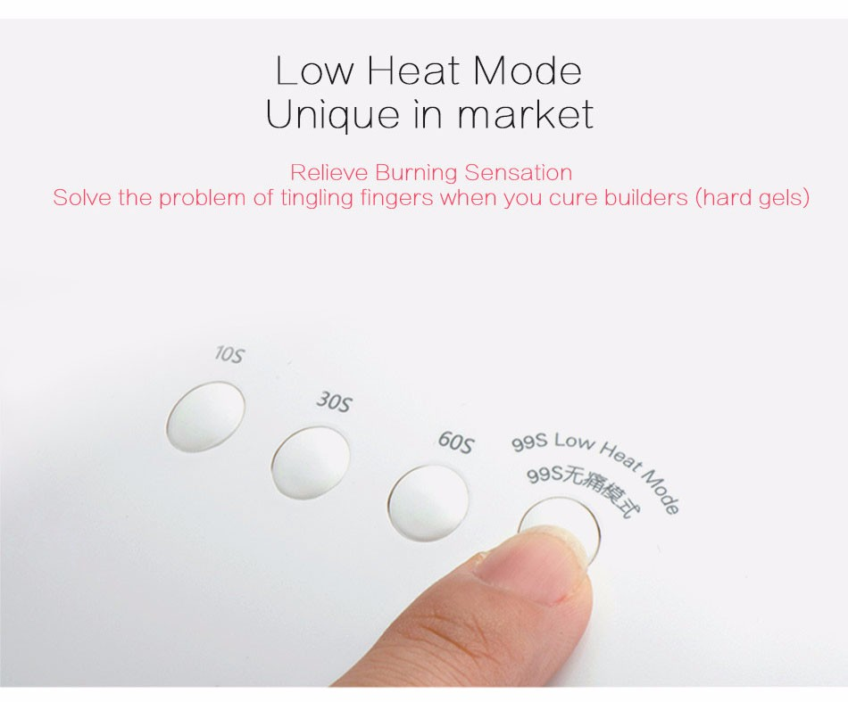 New SUNUV 36W Nail Dryer Machine SUN5 365+405nm White Light Profession LED UV Lamp Fit All UV LED Nail Gel Nail Art Tools