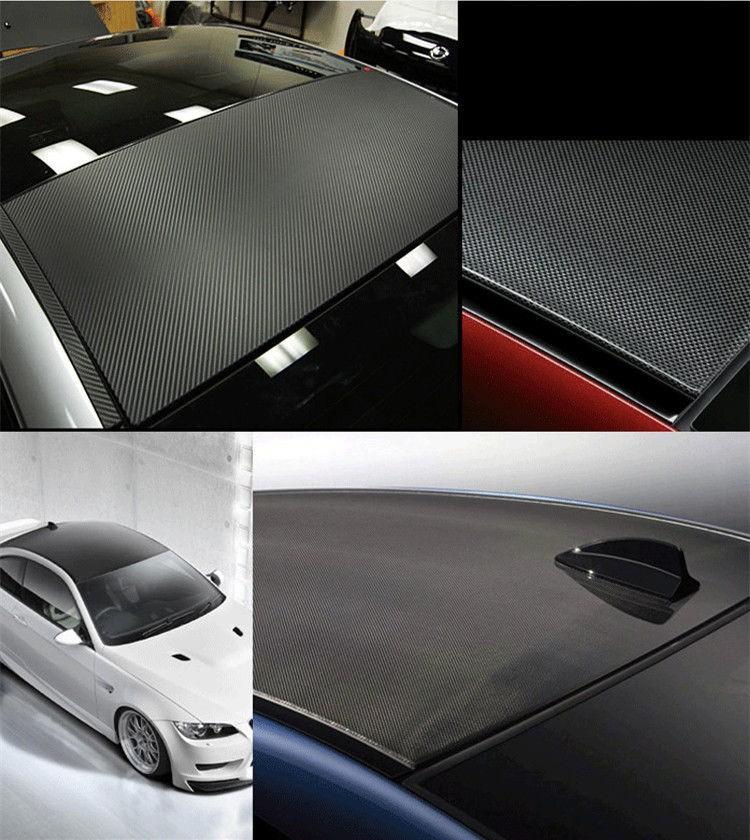 127 30CM 3D Carbon Fiber Vinyl Film Car Sticker Waterproof DIY Car Styling Wrap Carbon Fiber