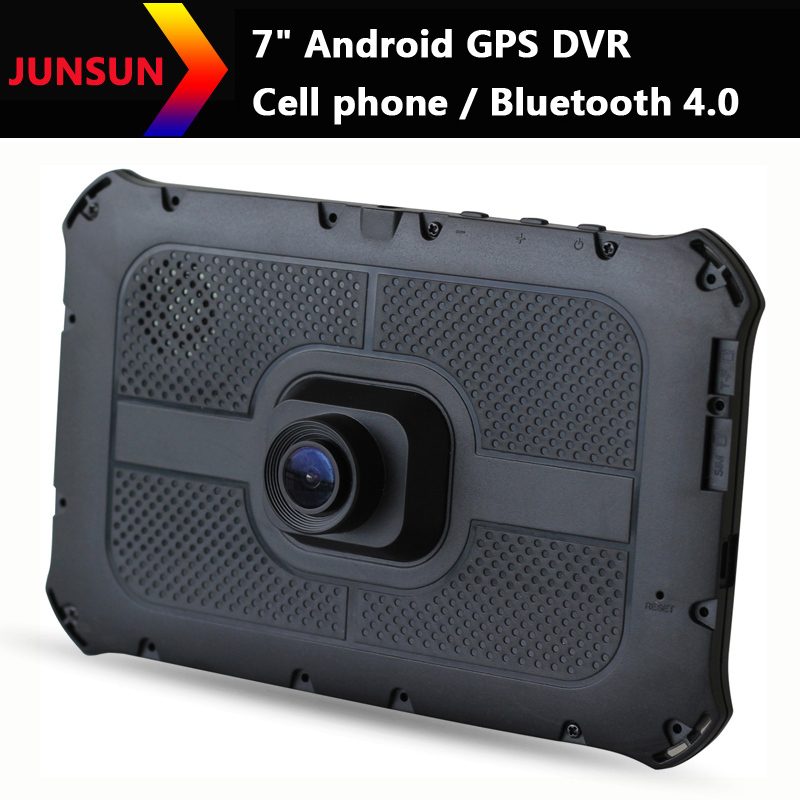 "7"" HD 1080P Android Car dvrs Recorder Camcorder call phone Bluetooth 4.0 Car GPS Navigation vehicle gps MT8312/1024*600/8GB(China (Mainland))"
