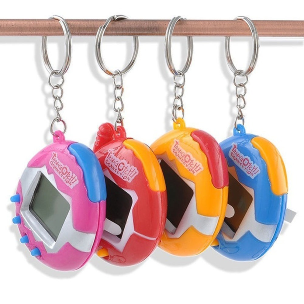 4 Colors 49 Virtual Cyber Digital Pets Electronic Tamagochi Pets Retro Game Funny Toys Handheld Game Machine For Gift(China (Mainland))