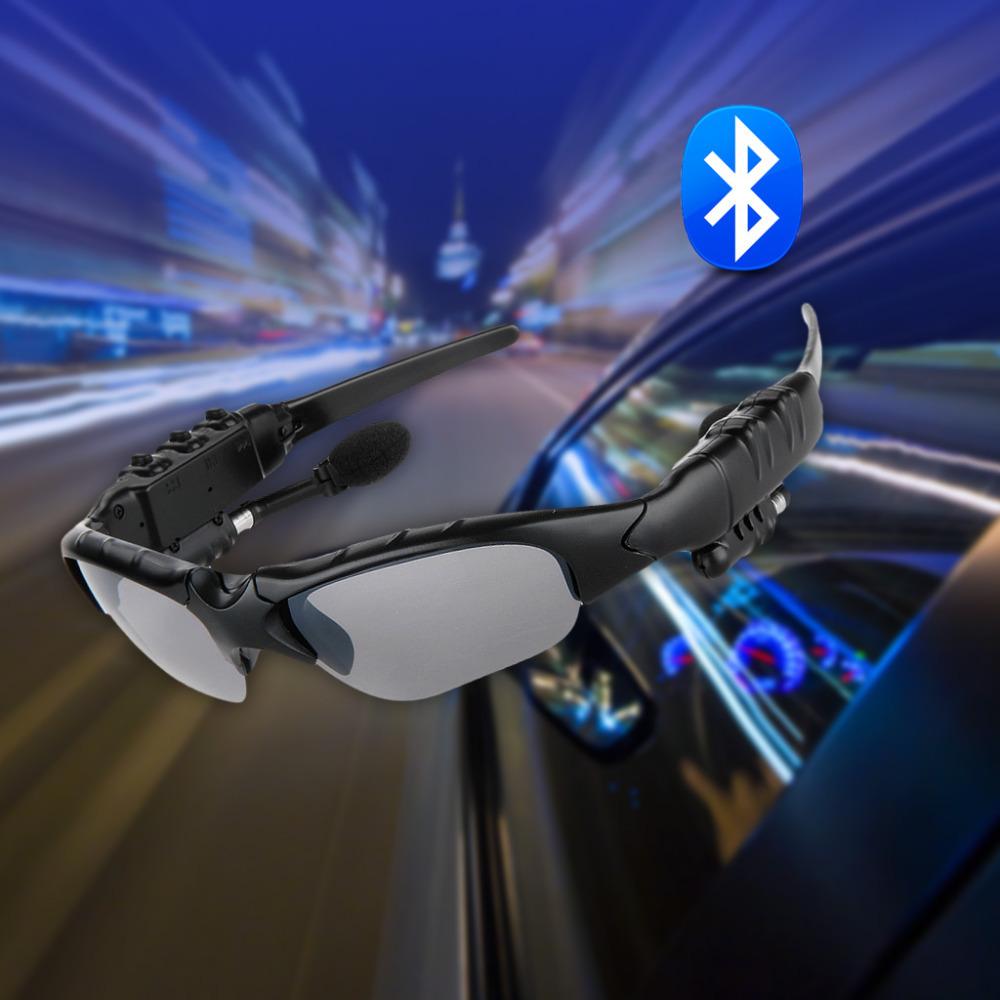 Фотография 100% Brand Excelvan Bluetooth Polarized Sunglasses Eyewear Headphone Headset for Smartphones