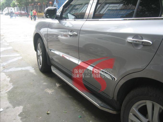07 08 09 10 11 12 Hyundai Santa Fe Chrome Side Door Body Molding Protector Trim 2007 2008 2009 2010 2011 2012<br><br>Aliexpress