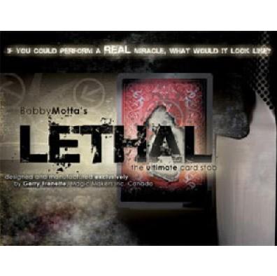 Lethal - Magic trick, stage magic card magic ,classic toys