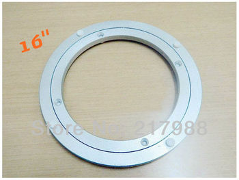 16'' Home Hardware Aluminum Round Lazy Susan Bearing Turntable Swivel for Revolving Serving Trays. Also apply to restaurants