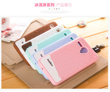 Lenovo A606 Soft Silicone Cover For Lenovo A606 Case Cartoon Pattern Girl Style With Candy Smell Shockproof Phone Bag
