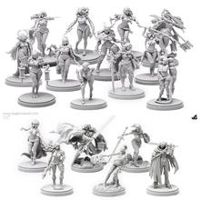Naked Kickstarter Pinup Collection  (18 girls Miniature)  Resin Models  Free Shipping(China (Mainland))