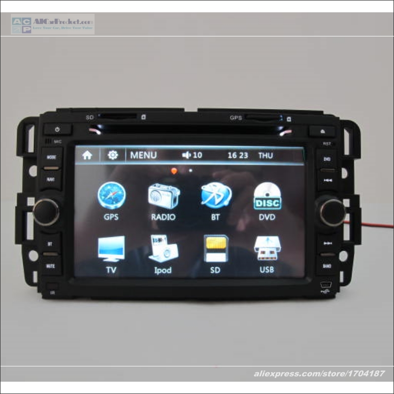 For Hummer H2 2009 2010 2011 - Aftermarket Stereo Car Radio CD DVD Player GPS Navigation Audio & Video Multimedia System(China (Mainland))