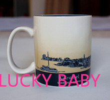 Classic mug Global City Cup Ceramic cup Coffee cup mug 16oz Cozumel