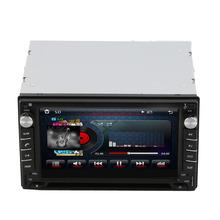 Guaranteed 100% Car DVD GPS 2DIN Car Stereo Radio GPS Bluetooth Player with rear view camera(China (Mainland))