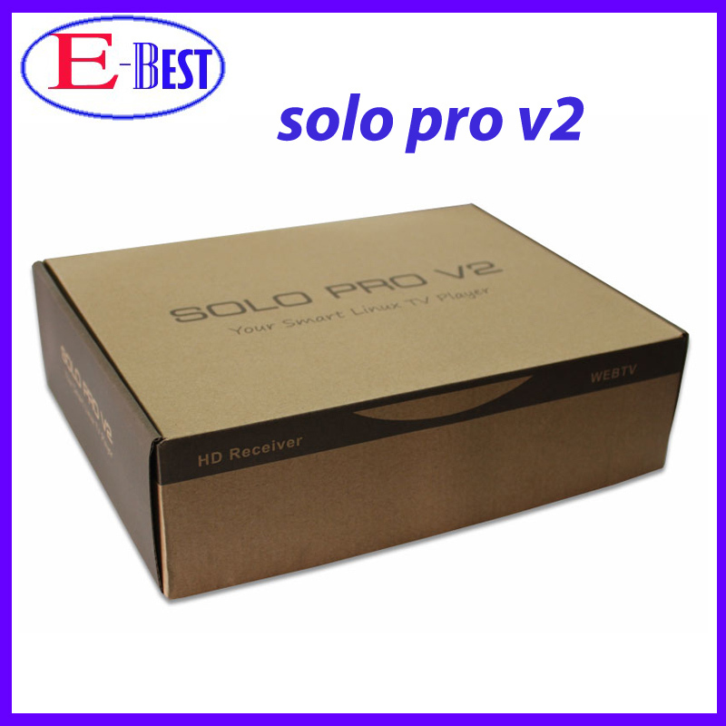 1pc VU SOLO PRO V2 new DVB-S2 HD Linux Enigma2 751MHz MIPS Satellite Receiver support Blackhole Openpli Openvix free shipping(China (Mainland))