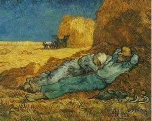 Van Gogh Oil Painting on Canvas,24*30inch,Free Shipping C274,[Colorful Life]