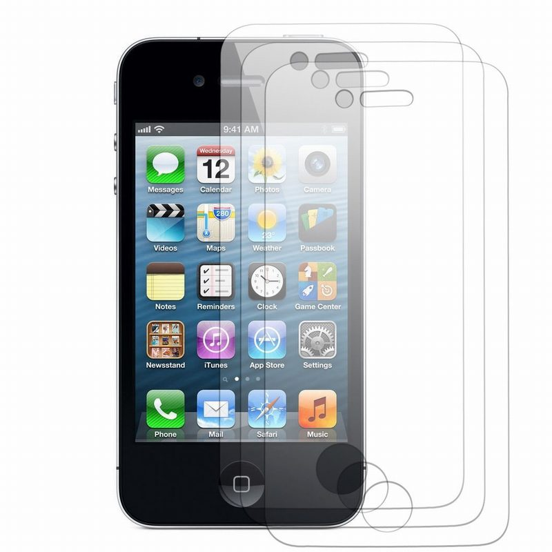 100PCS For iPhone 4/4S protection ecran High Clear Screen Protectors For Apple screenprotector pantalla iphone 4 4S 4G Wholesale(China (Mainland))