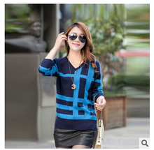 New Arrival Brand turtleneck and  V-neck Womens Sweaters and knitwear Fashion women jumpers Pullovers Sweater sueter Tops  598(China (Mainland))