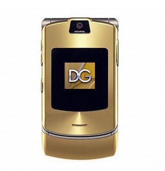 V3i Unlocked Original V3i DG Vesion Quad band Mobile Phone Bluetooth Camera Cellphone Russian & English& Arabic keyboard support(China (Mainland))