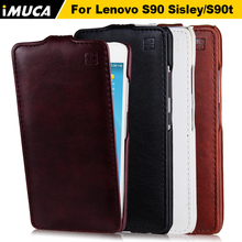 IMUCA leather case for Lenovo S90 S90t phone case cover shell vertical cases bag mobile phone accessories holster