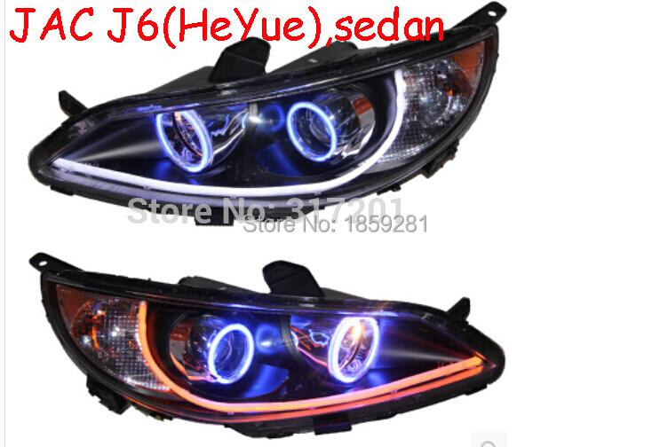 JAC J6 headlight,HeYue,RS,Fit for LHD,If RHD need add 200USD,Free ship! JAC J6 fog light,2ps/set+2pcs Aozoom Ballast; JAC RS