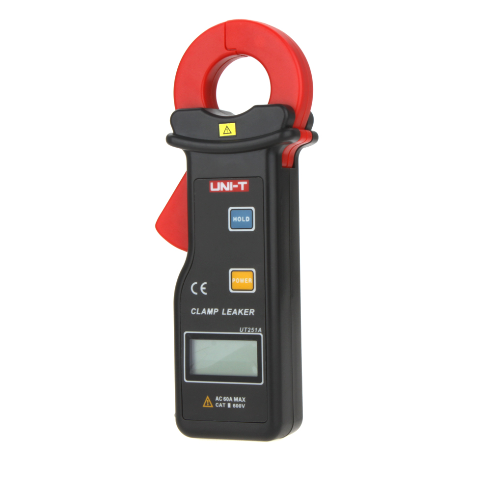 UNI-T UT251A 10000 Counts High Sensitivity Leakage Current digital Clamp Meters w/99 Data Logging pinza amperimetrica multimeter(China (Mainland))