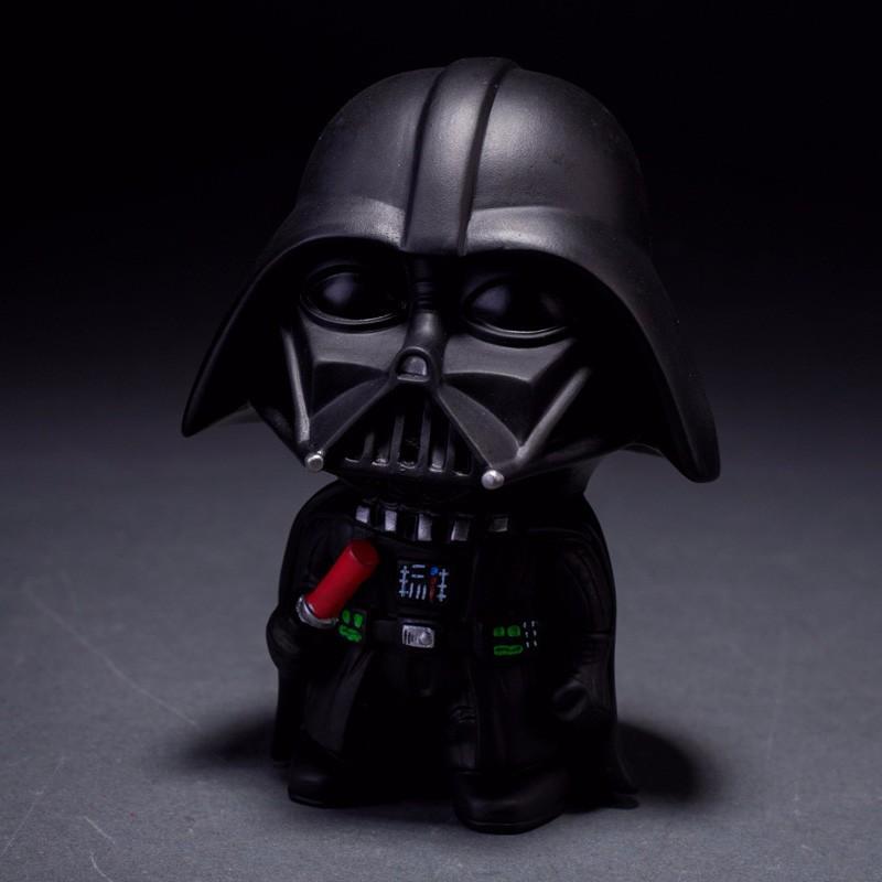 10cm 2pcs lot Q Style Star War Darth Vader STORM TROOPER Action Figure Model Toy Come
