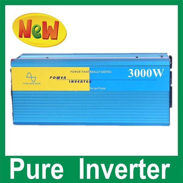 Pure Sine Wave 3000w power inverters, 3000w inverter Omvormer 12v 220v<br>