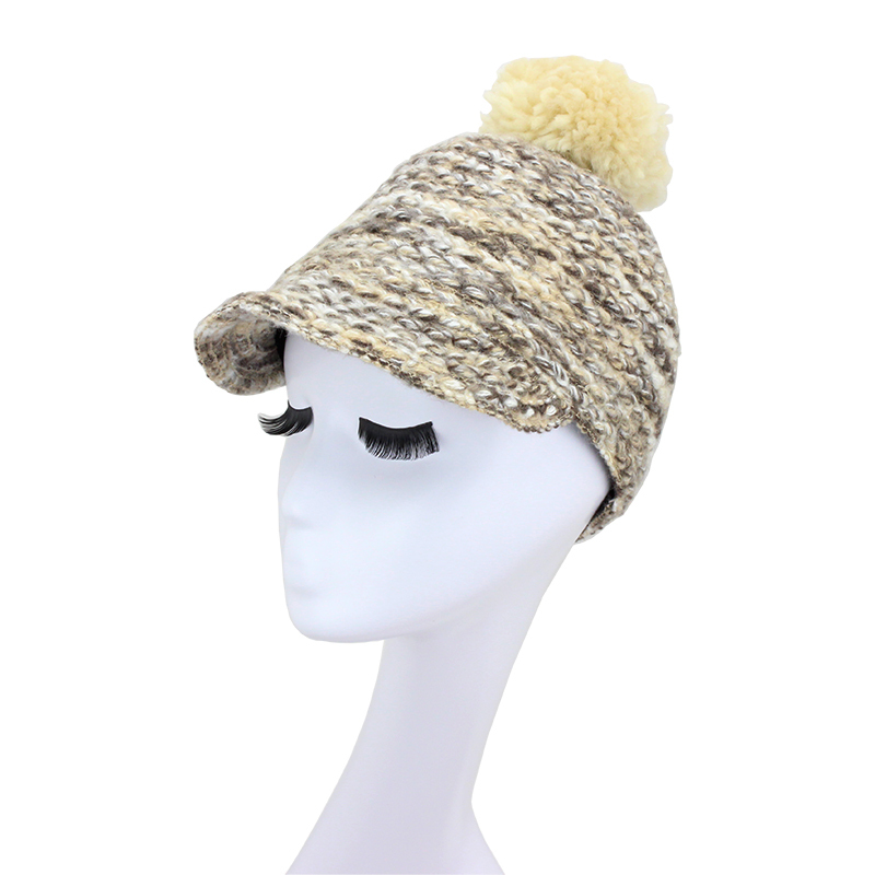 2015 NEW Winter Autumn knitting baseball caps women fashion design kitted hats low price free shipping(China (Mainland))