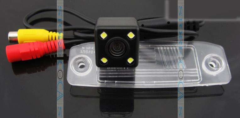 wireless for SONY ccd LEDS Car Rear View camera  Reverse backup parking assist for KIA Carens Oprius Sorento Borrego Kia ceed