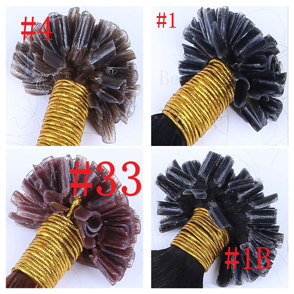 High Quality 20(50cm) 1.0g/s 100s/pack 100g/pack Natural Capsule Prebonded U Tip Keratin Fusion Hair Extension Body Wave <br><br>Aliexpress