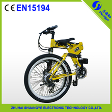 "36v 250w 26"" fashion folding mountain e-bicycle, 21 speed ebike for adult(China (Mainland))"