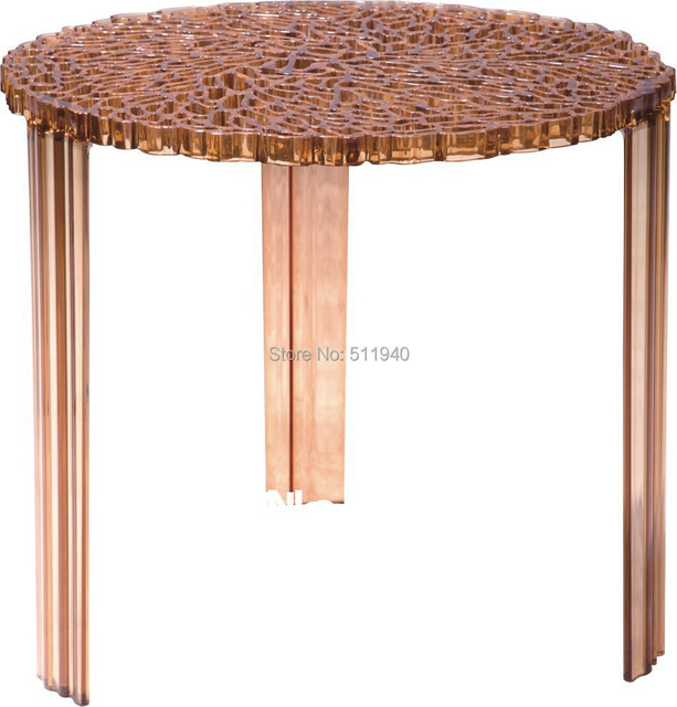 In stock 1 piece PC plastic Patricia Uroquiola hollowed Tea table side table