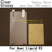 clear glossy LCD Screen Protector Guard Cover Film Shield For Acer Liquid E3 E380 V380 / Acer Liquid E3 Duo