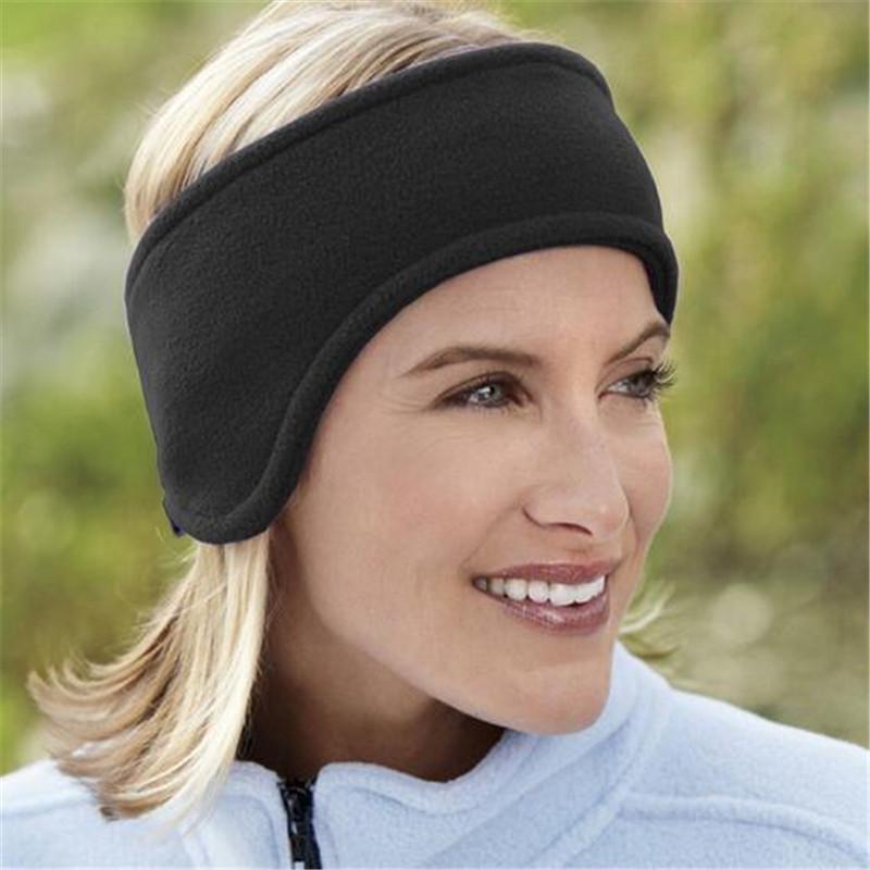 Fashion Fleece Headband Winter Ear Warmer Wrap Ear Protector CJ236(China (Mainland))