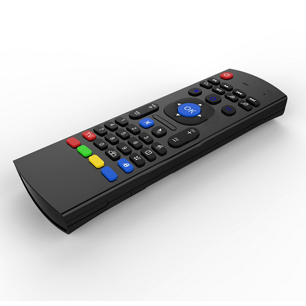 Best ! Double keyboard 2.4GHz Wireless MX3-M Air Mouse With Voice Input IR Remote Control For Smart TV IPTV Android TV Box HTPLC(China (Mainland))