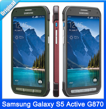 Original Samsung Galaxy S5 Active G870 Unlocked Mobile Phone Quad-Core 5.1″ Inch 2GB RAM 16GB ROM 16MP Cell Phone Free Shipping