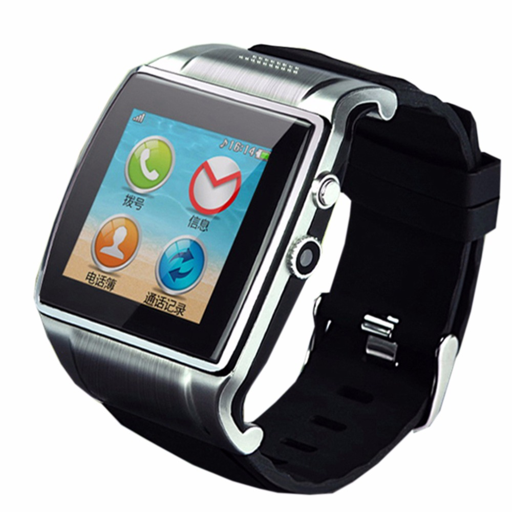 Hot L18 Smart Watch Wrist Waterproof Hi Watch2 With 2.0MP Camera Bluetooth 3.0 Support SIM/TF Card FM Vedio for android phone(China (Mainland))