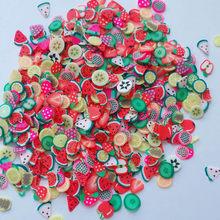 Rodajas de fruta suave perfumado alivio del estrés juguetes lodos para juguetes de limo arcilla polimérica magia arena masilla arcilla suave accesorios(China)