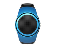 B20 Bluetooth Sport Watch Design Portable Super Bass Outdoor Speakers Wrist Bracelete With Built-in Microphone Hand for s7