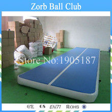 Free Shipping 8x2m Inflatable Air Tumble Track, Inflatable Gymnasium Air Track Mat(China (Mainland))