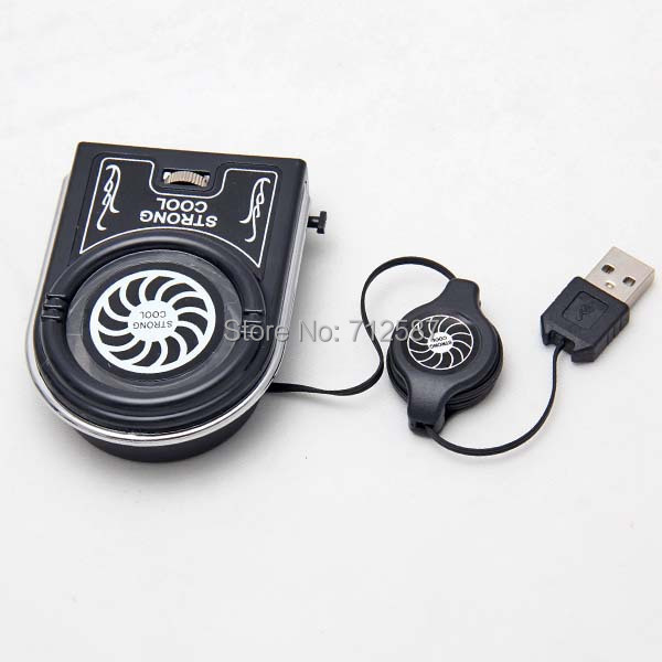 Mini Flexible Vacuum Air Extracting USB Cooler Cooling Fan for Notebook Laptop Accessories Computer Peripheral(China (Mainland))