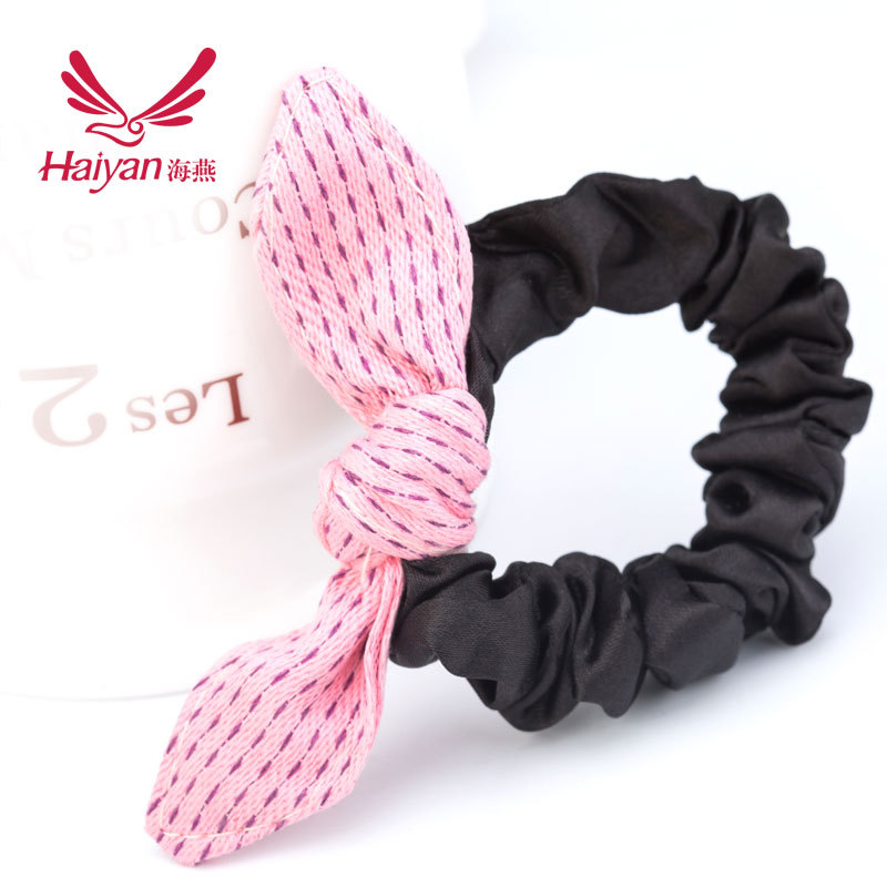 Hairband Unisex Cotton Top Fashion 2015 Sale Direct Selling Baby Clips Korea Sweet Bow Fabric Leather Ring Head Hair Accessories(China (Mainland))