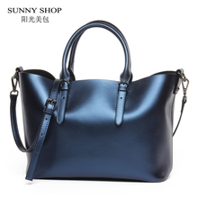 Buy SUNNY SHOP 100% LUXURY Genuine Leather Women Shoulder Bag Brand Designer Cowhide genuine leather handbags Skin Crossbody bag for $49.50 in AliExpress store