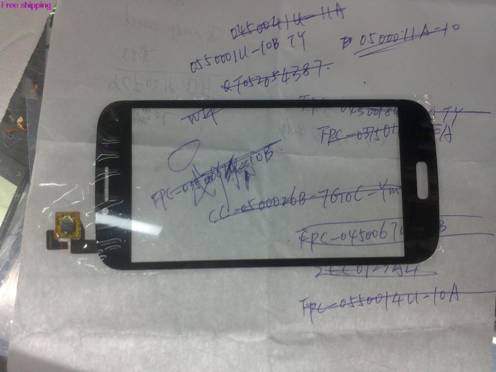 Free shipping 10pcs Domestic coding FPC-0550001U-10B external screen handwriting screen capacitive touch screen panel(China (Mainland))