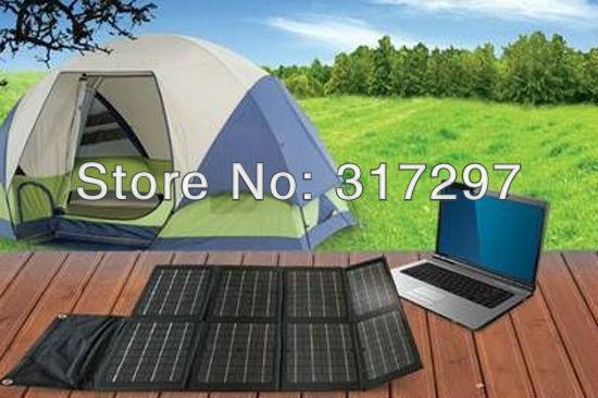 Free Shipping Solar Battery 80W 12V Folding Mono 80 Watt Solar Panels Solar Energy Charger for Laptop/Computer/12V Battery(China (Mainland))
