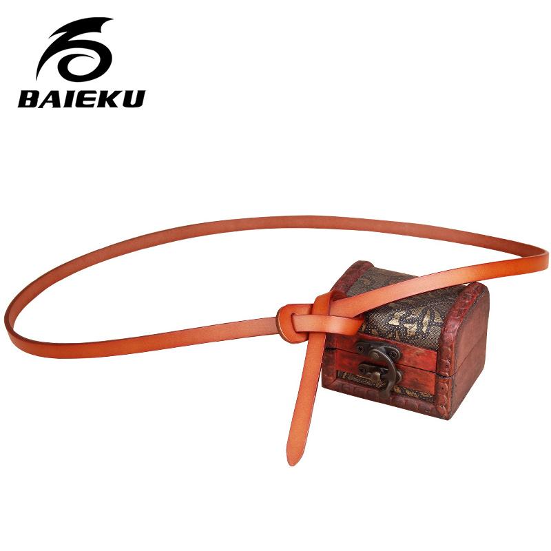 BAIEKU Retro fashion lady waist belt, do not contain metallic allergy free small belt(China (Mainland))