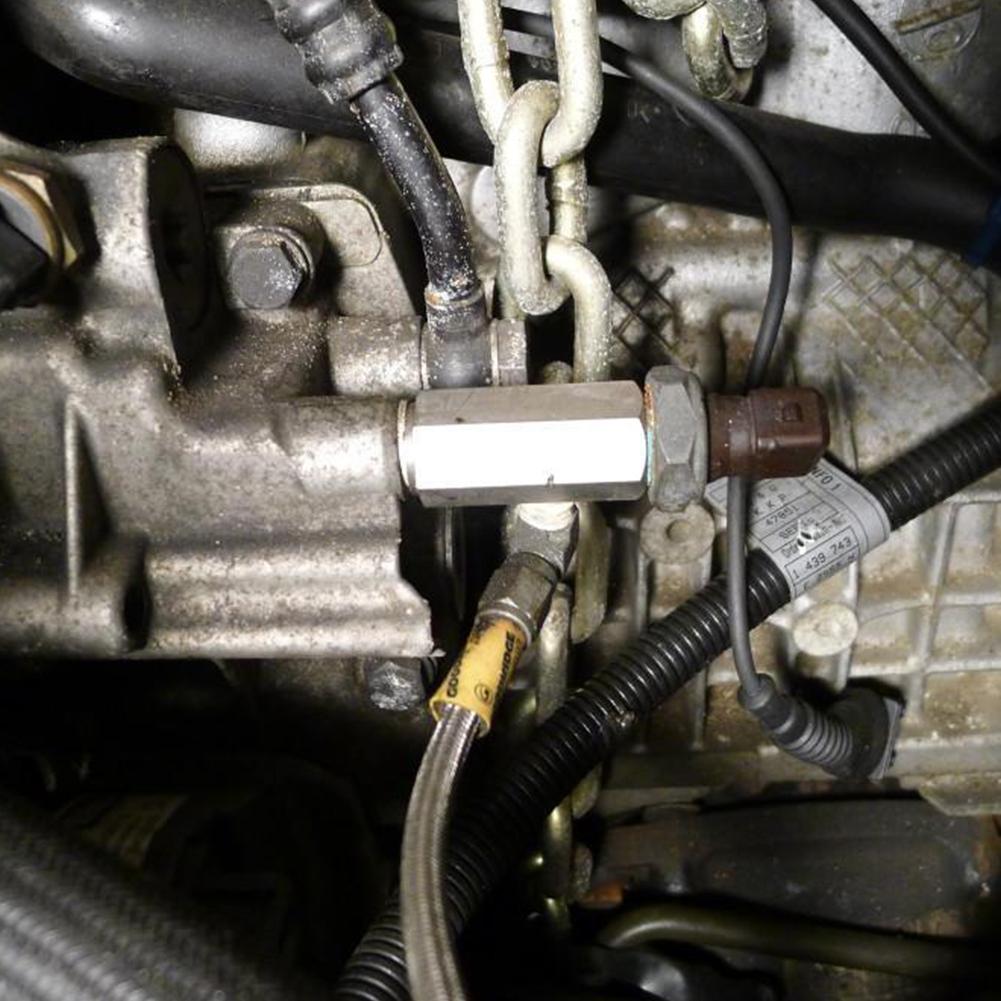 Детали турбо питания инструмент масло Давление Сенсор тройник 1/8 дюймов линия aeProduct.getSubject()