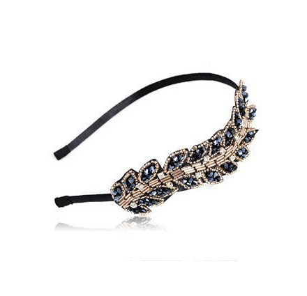 T166 Wholesales 2014 New High Quality Crystal Barrette Hairbands Accessories Head Wedding Hair Jewelry(China (Mainland))