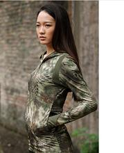 Free shipping,outdoor jungle tactical uniforme multicam women,military training jogging hoody,femme fashion cool Sweatshirts(China (Mainland))