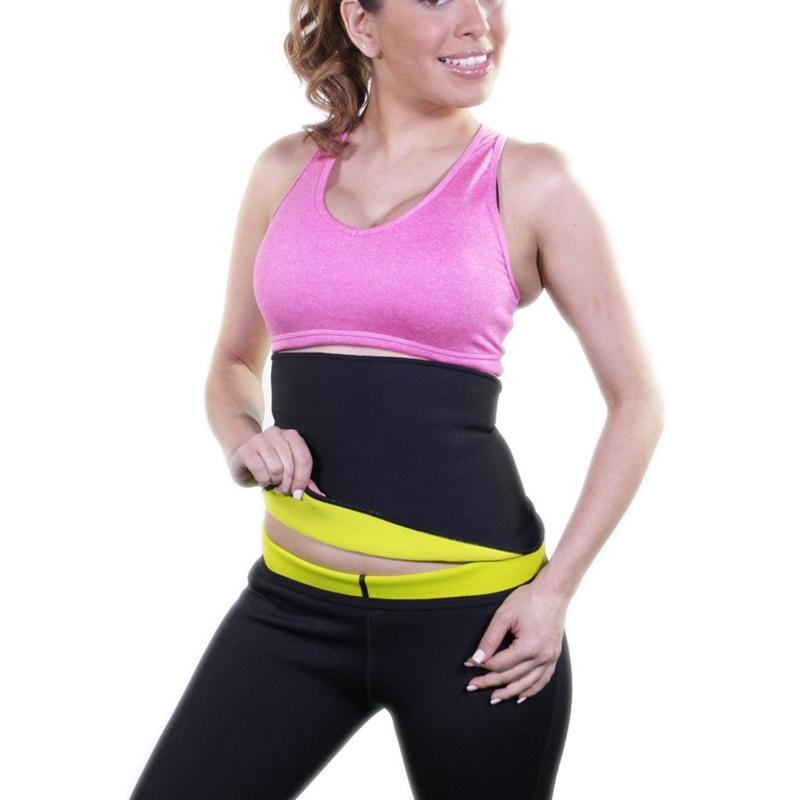 Super Stretch Gym Women Neoprene Body font b Shaper b font Sauna Slimming Abdomen Belly Belt