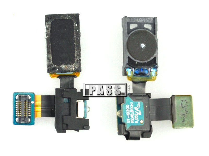 Free shipping original quality new earpiece ear speaker flex cable repair parts for samsung galaxy i9200 50pcs/lot